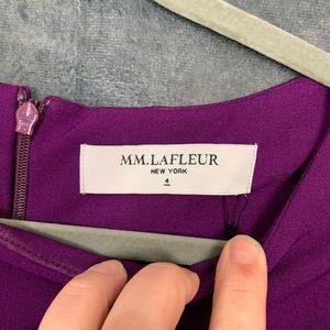 MM Lafleur Dresses - 🆕MM. LaFleur Etsuko Dress Deep Plum 4